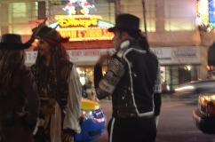 Jack Sparrow e Michael Jackson- Artistas na calçada da fama- by ClauGrunow