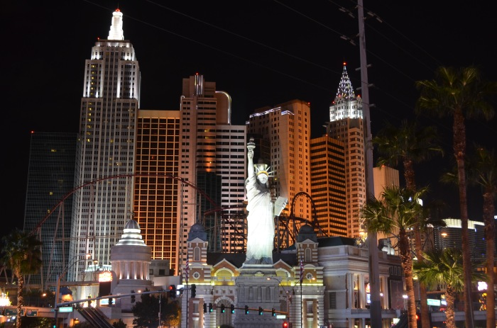Trecho da Strip -Las Vegas Boulevard - Photo by Claudia Grunow