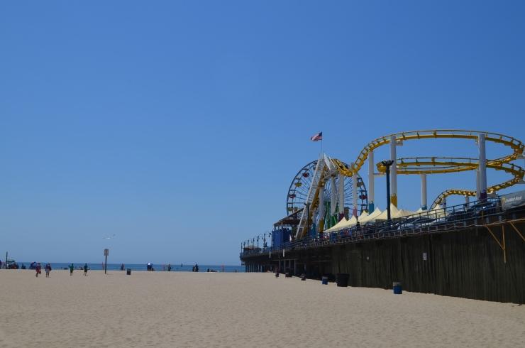 Píer Santa Monica- Foto ClauGrunow