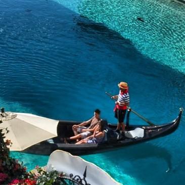 Passeio de Gondola no Venetian- Foto by google
