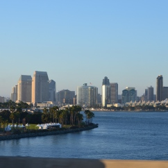 Vista da Coronado Bridge