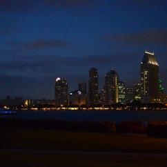San Diego vista da Ferry Landing
