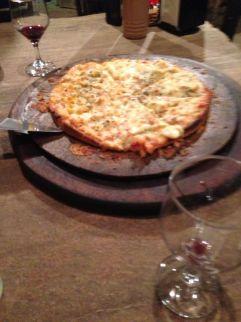 "Pizza do ""Ser Criativo"" - Photo By Claudia Grunow"