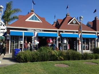 Lojas, restaurantes no Ferry Land -