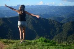 Vista do Pico Agudo - Photo by Claudia Grunow