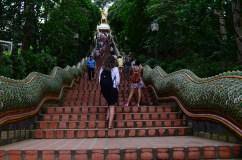 Escadaria do Templo Doi Suthep