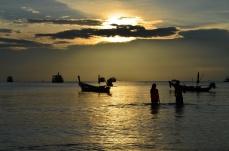 Pôr do Sol em Koh Tao.