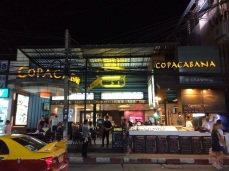 Restaurante chamado Copacabana
