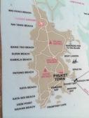 Mapa de Phuket /Photo by Claudia Grunow