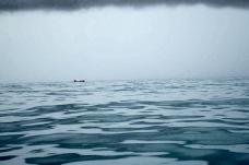 No caminho em alto mar pegamos uma tempestada -Photo by Claudia Grunow