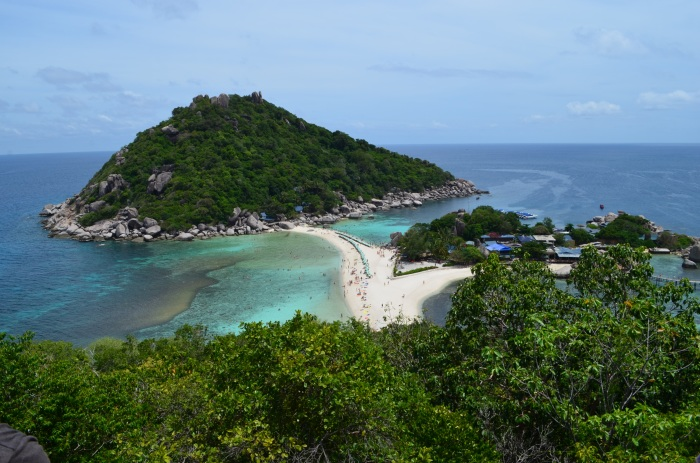 A linda ilha de Koh Nang Yuan -Photo by Claudia Grunow