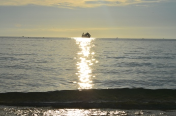 Sunset Sairee Beach - Photo by Claudia Grunow