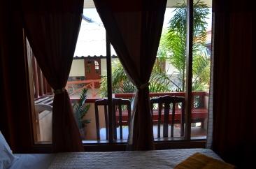 Foto da Sacada do Hotel - Photo by Claudia Grunow