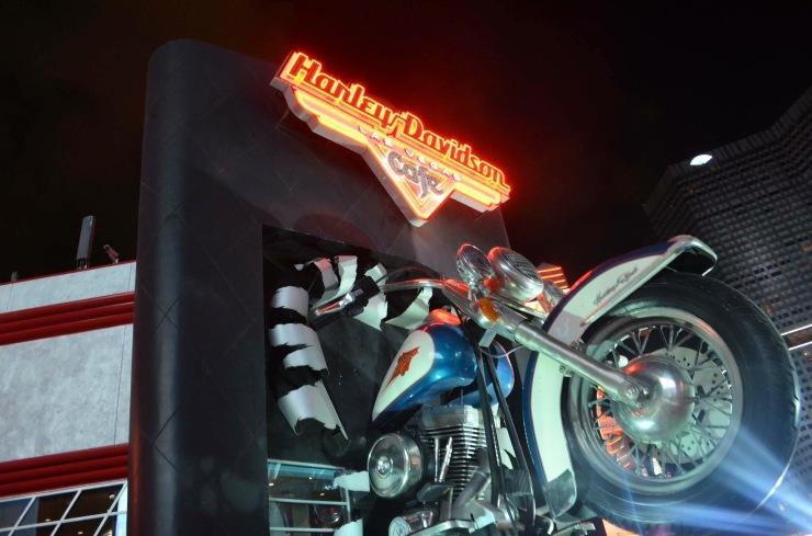 Harley Davidson Café - Photo by Claudia Grunow