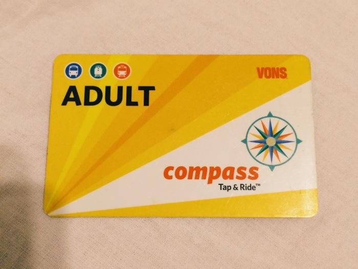 Compass- Cartão para ônibus e Trolley - Photo By Claudia Grunow