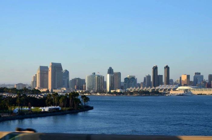Linda tarde ensolrada em San Diego - Photo By Claudia Grunow