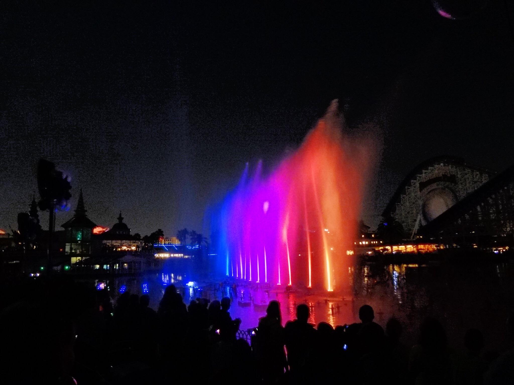 A mágica dança das águas na Disney - Foto Fernanda Cabanas