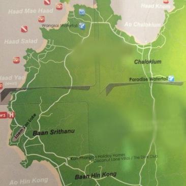 Mapa onde mostra toda a parte Noroeste- Photo by Claudia Grunow