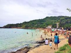 A primeira vista ao chegar as praias - Photo by Claudia Grunow