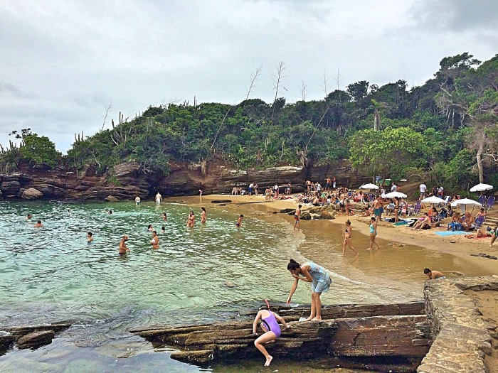 Praia Azedinha- Photo by Claudia Grunow