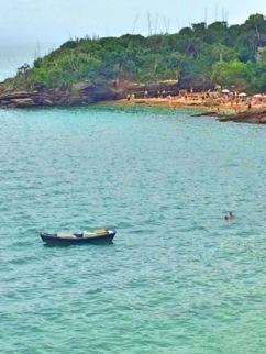 Vista do Alto da praia Azedinha- Photo by Claudia Grunow
