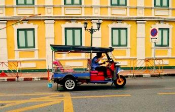 Road Bangkok - Photo by Claudia Grunow
