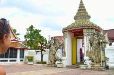 Portal de entrada do Wat Pho - Foto by Claudia Grunow