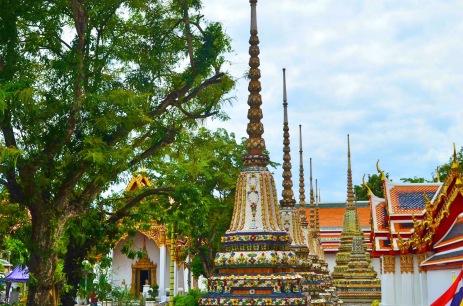 Pátio de entrada do Wat Pho- Photo by Claudia Grunow