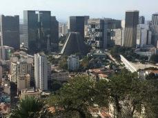 Vista do centro do Rio de Janeiro - Parque das Ruínas - Photo by Claudia Grunow