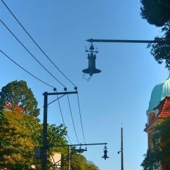 Lanternas da rua que leva ao Parque das Ruínas - Photo by Claudia Grunow