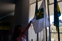 Nossa guia dentro do Congresso Nacional - Photo by Claudia Grunow