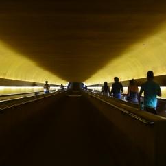 Túnel que dá acesso à câmara dos Deputados - Photo by Claudia Grunow