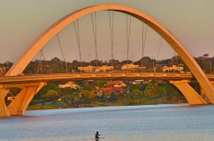 Ponte Juscelino Kubitschek - Photo by Claudia Grunow
